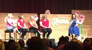 My upline, Tracy, was part of a panel discussion